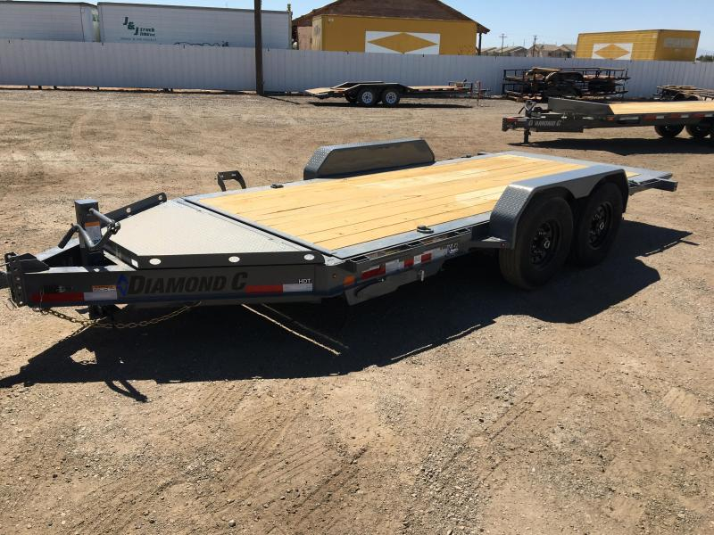 2020 Diamond C Trailers HDT-LPL 16x82 HYD Dampened Trailer