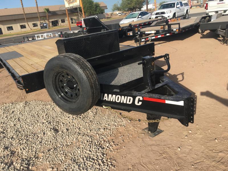 2020 Diamond C Trailers DET 20 X 102 Equipment Trailer