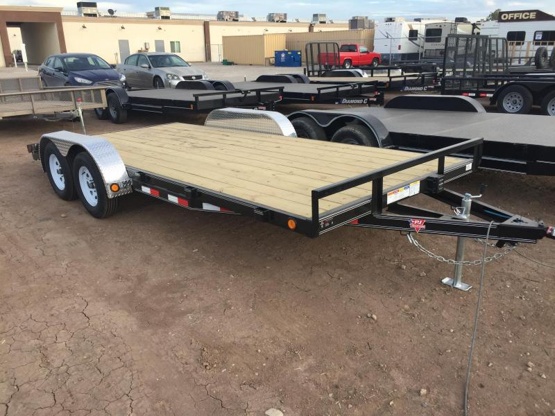 2019 PJ Trailers 4 in. Channel Carhauler (C4) Car / Racing Trailer