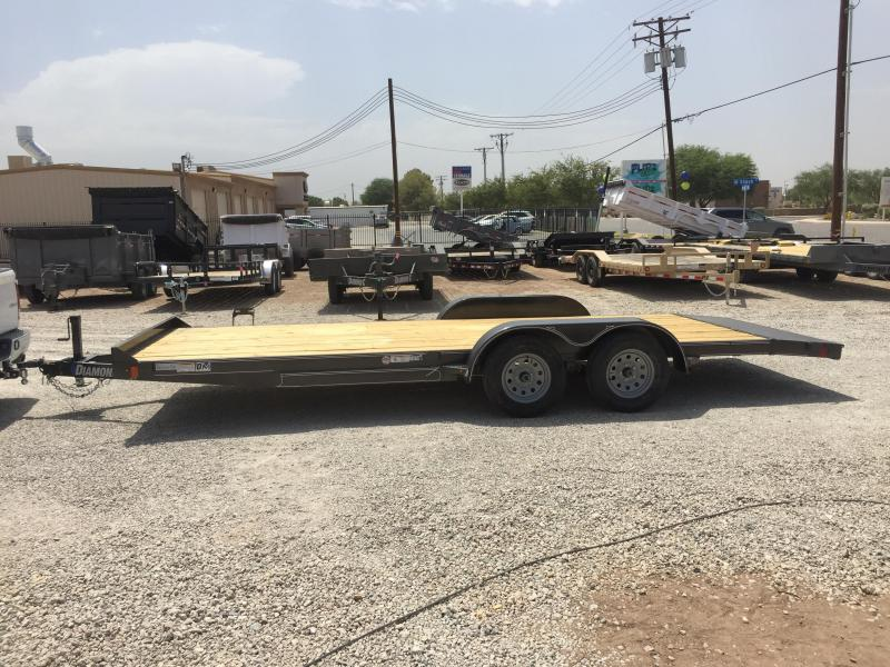 2019 Diamond C Trailers GTF 235 18X83 Car / Racing Trailer