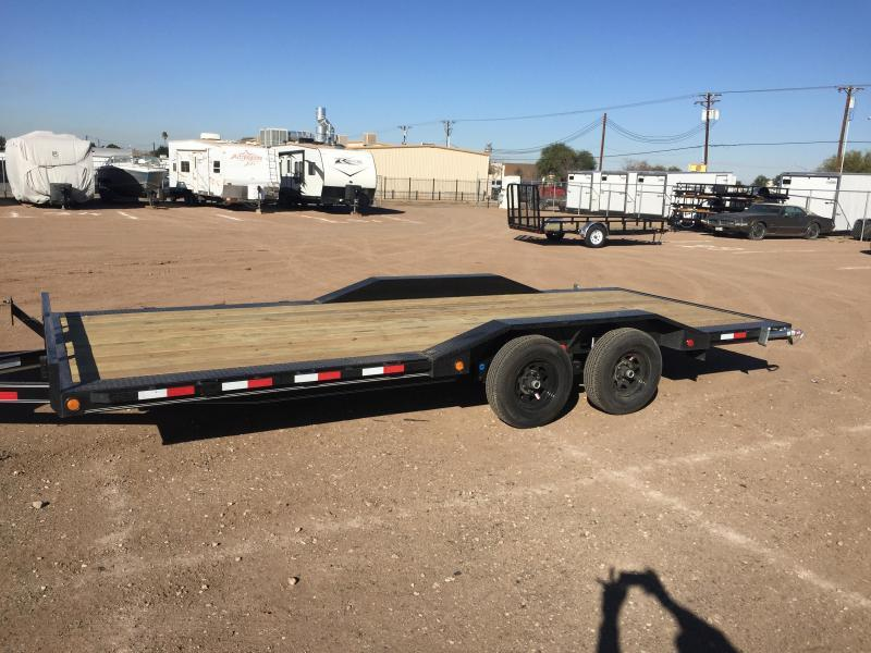 2020 PJ Trailers 5 in. Channel Buggy Hauler (B5) Car / Racing Trailer