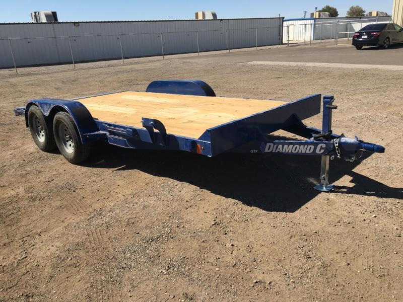 2020 Diamond C Trailers GTF 235 16X83 Car / Racing Trailer