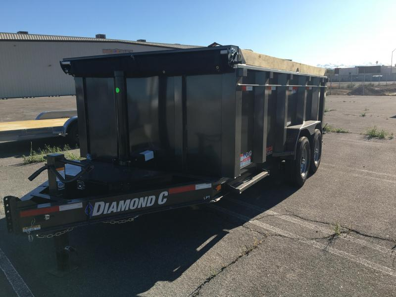 2020 Diamond C Trailers LPT 207 14X82 Dump Trailer