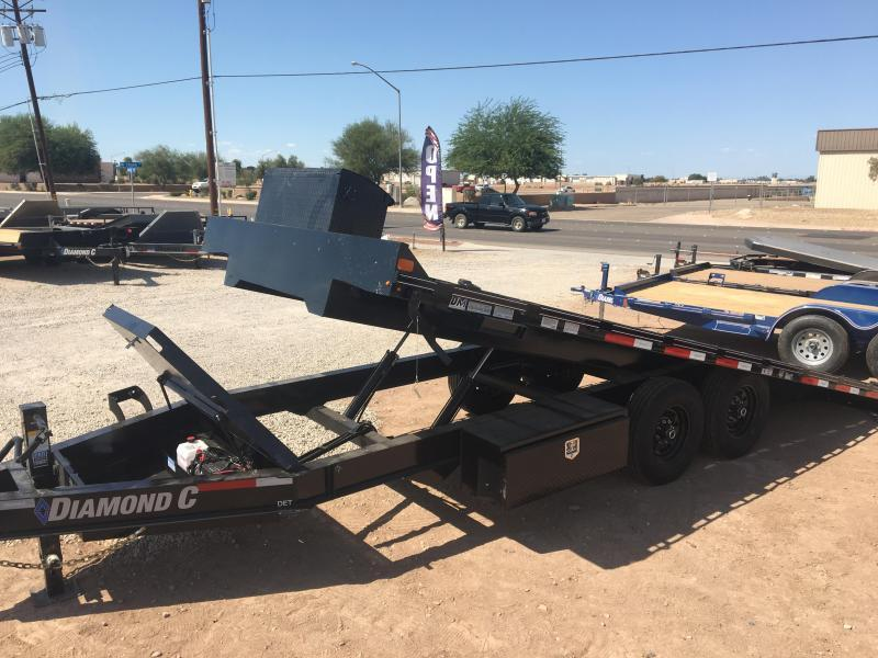 2020 Diamond C Trailers DET 22 X 102 Equipment Trailer