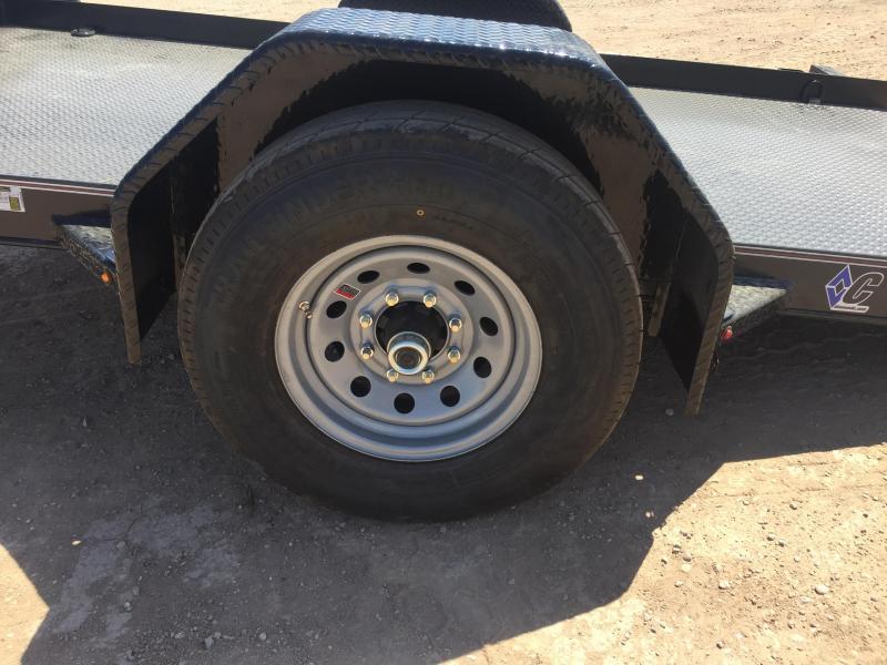 2019 Diamond C Trailers DSA12X77 Forklift Equipment Trailer