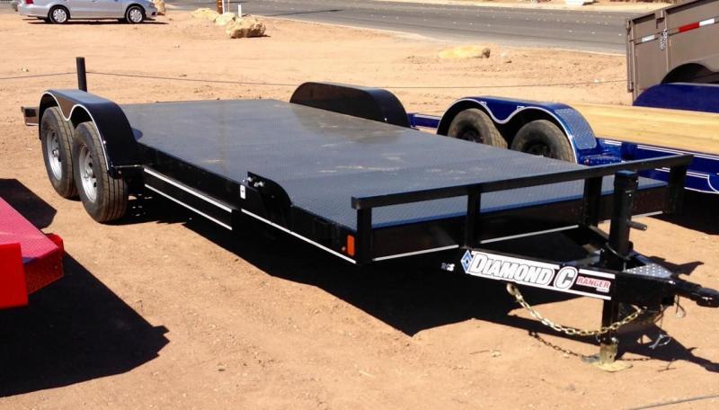 2018 Diamond C Trailers RSC 20 x 83 Steel Deck Car Hauler