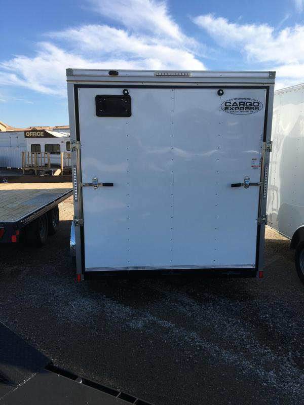 2021 Cargo Express Ex 7 Wide V-NOSE Tandem Cargo Cargo / Enclosed Trailer