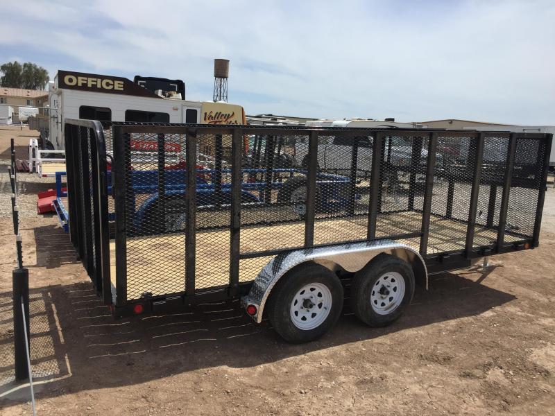 2019 PJ Truck Beds PJ UK 16X77 LANDSCAPE Utility Trailer
