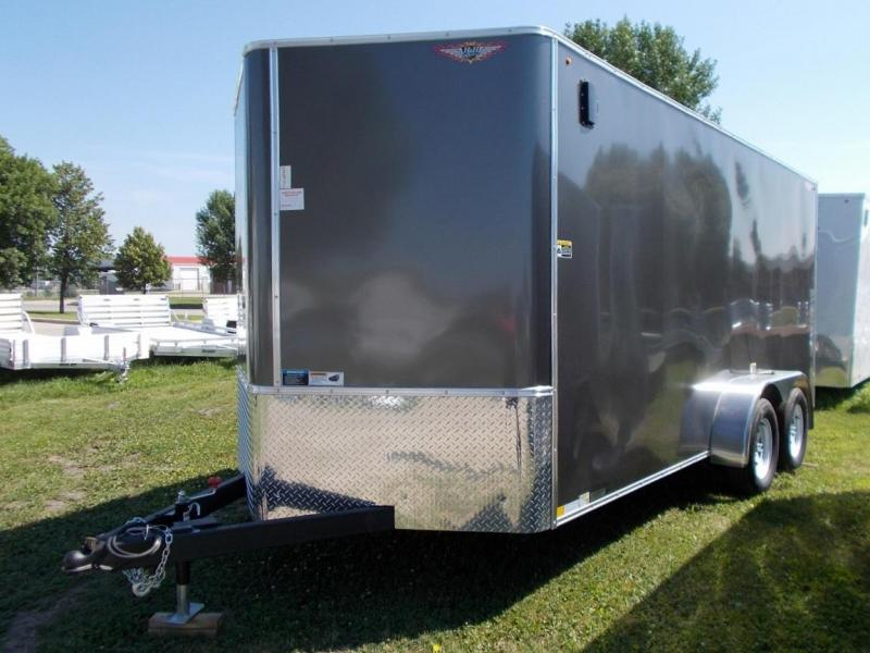 2020 H&H Trailer Model H8416TFTV-070  Tandem Axle Enclosed Cargo Trailer
