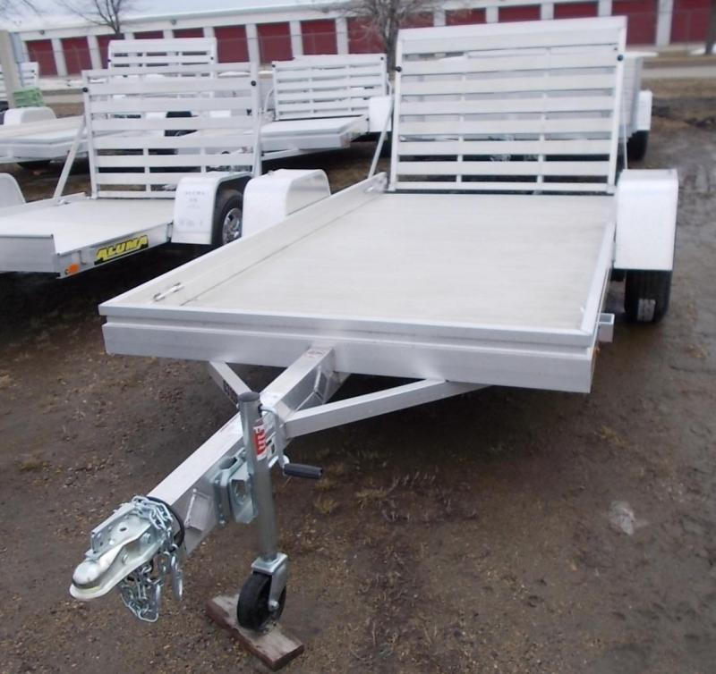 2020 Aluma 6310H Utility Trailer with Standard Tail Gate