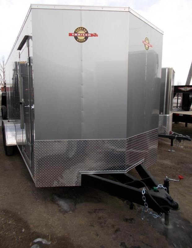 2020 Carry-On 7X18 CGRCM Tandem Axle Enclosed