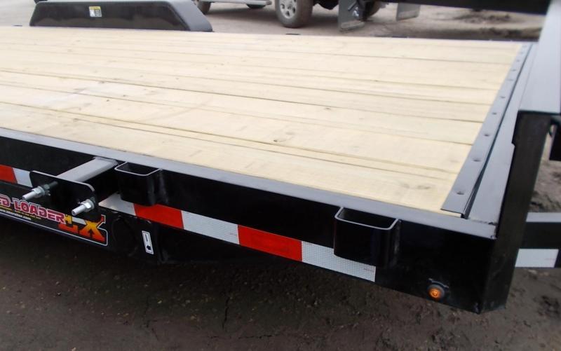 2020 H&H 82x20 10K Electric Tilt Bed Speedloader Flatbed Trailer