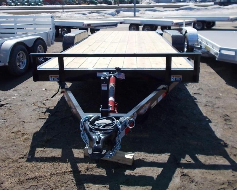 2020 H&H 82x20 10K Tilt Bed Speedloader Flatbed Trailer