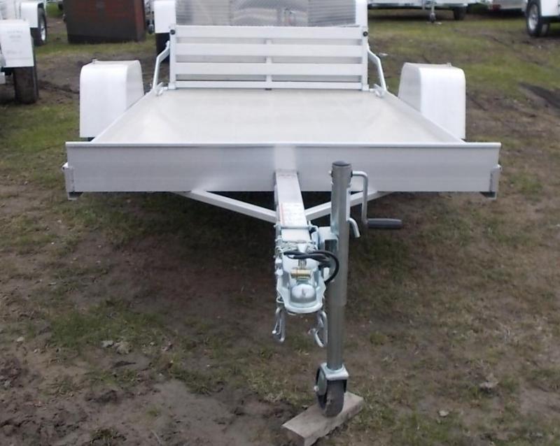 2020 Aluma 6310 BT Utility Trailer with Bi-Fold Gate