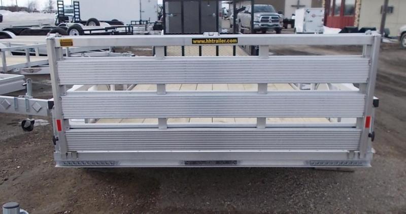 2020 H and H Trailer 8(76)X10 RAILSIDE ALUM 3K