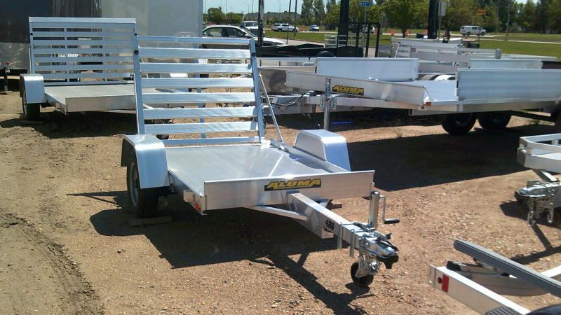 2020 Aluma 486 Utility Trailer with Rear Ramp Gate