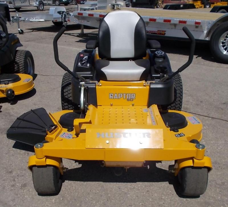 2020 Hustler Raptor SD Zero Steer Mower 54 Deck Lawn Mower