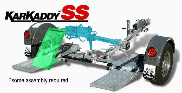 2013 Demco Kar Kaddy SS Surge Disc Brake Tow Dolly