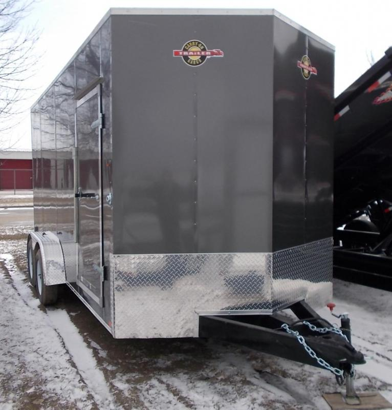 2020 Carry-On 7X16 CGRCM Tandem Axle Enclosed