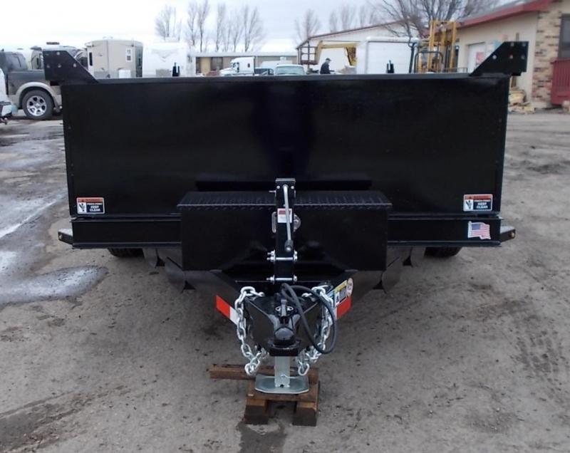 2020 H&H 76X12 10K Utlity Dump Trailer