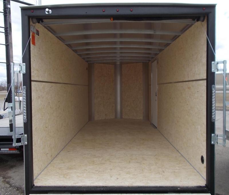2020 H&H Trailer Model H8416TFTV-070  Tandem Axle Enclosed Cargo Trailer