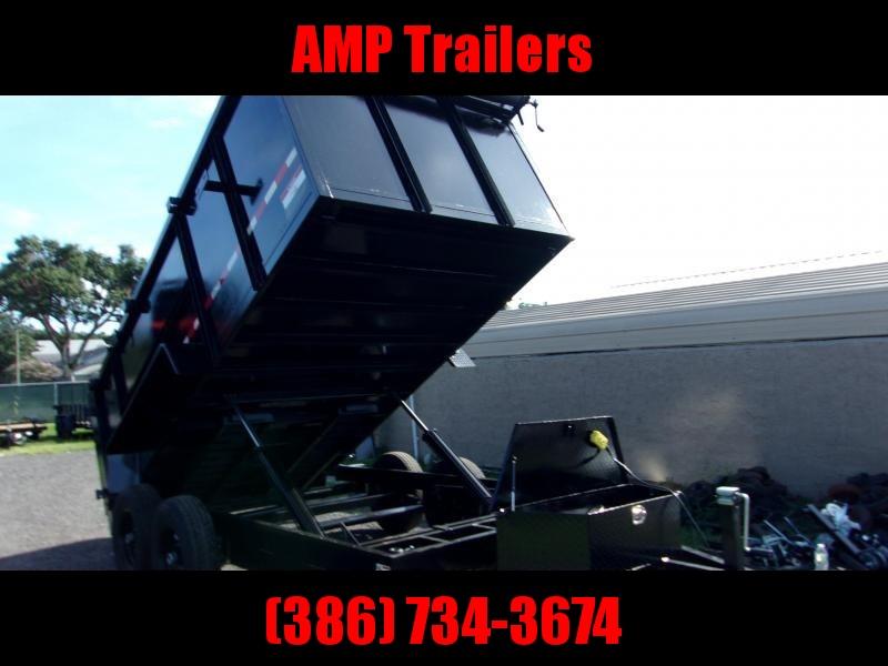 2019 AMP Trailers 7x14 E-DUMP Dump Trailer