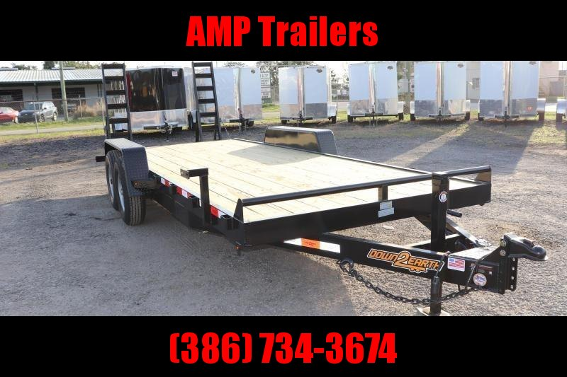 2020 Down 2 Earth Trailers 82x20 EQ Equipment Trailer