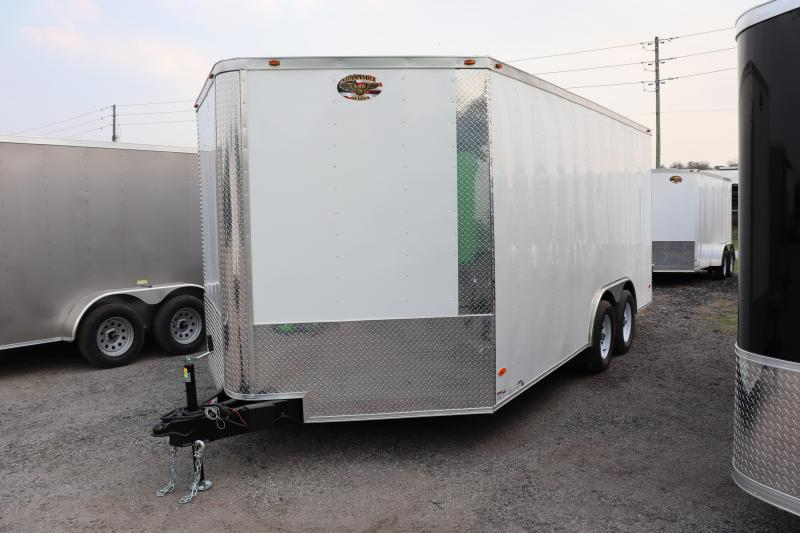 2020 8.5X16 Commander Series TANDEM AXLE Cargo Trailer
