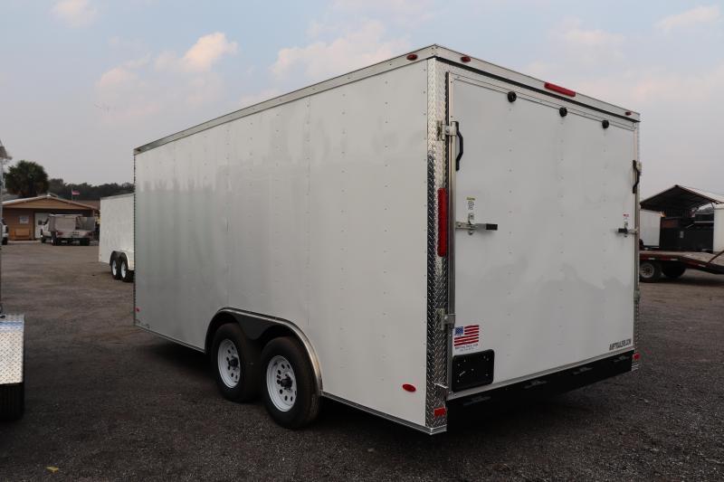 2020 8.5X16 TANDEM AXLE Cargo Trailer