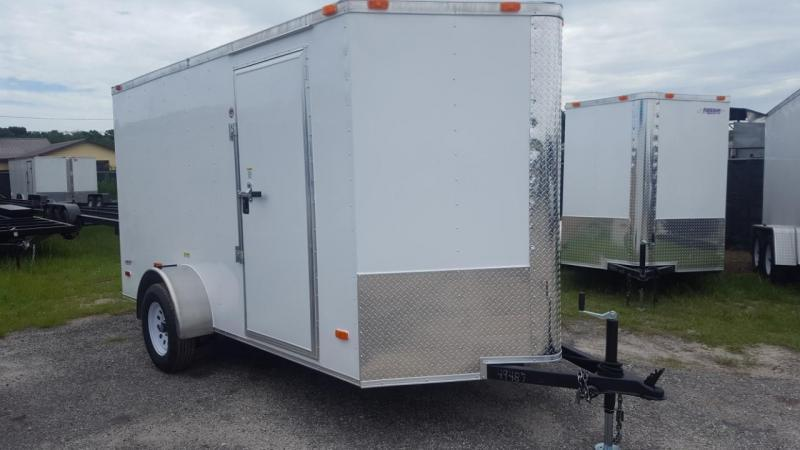 2020 6x12 Commander Series Cargo Trailer