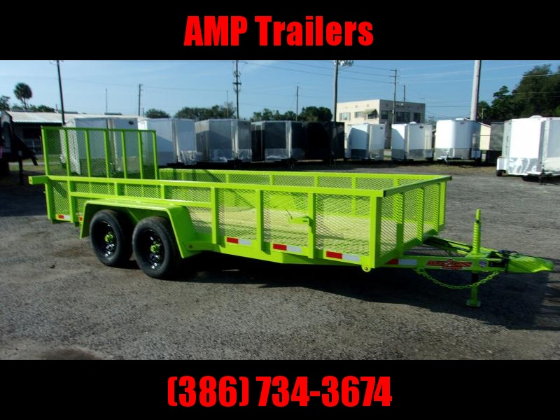 2019 Down 2 Earth Trailers 76X16 Utility Trailer
