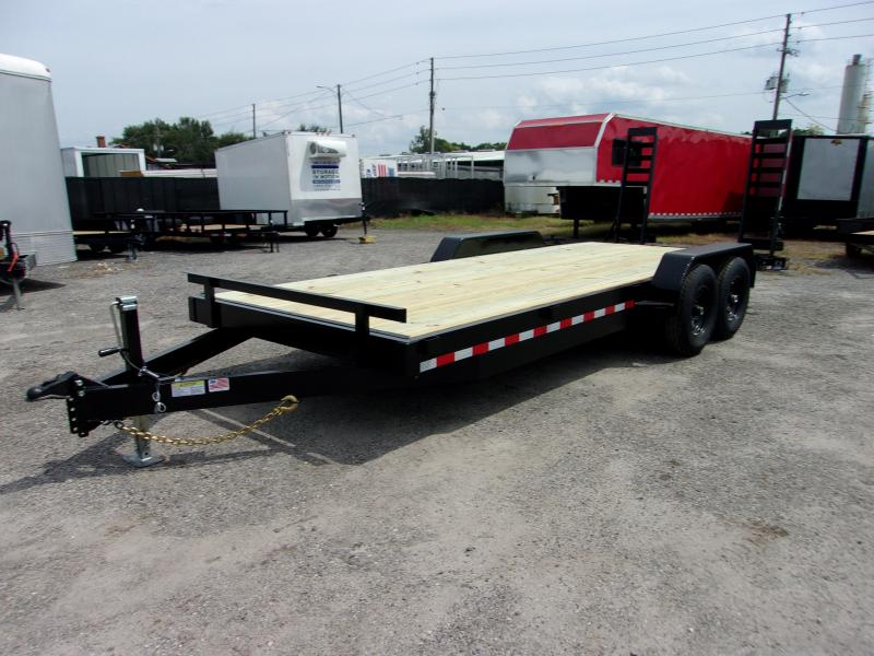 "2019 AMP 82""X20' 7 ton Equipment Trailer"