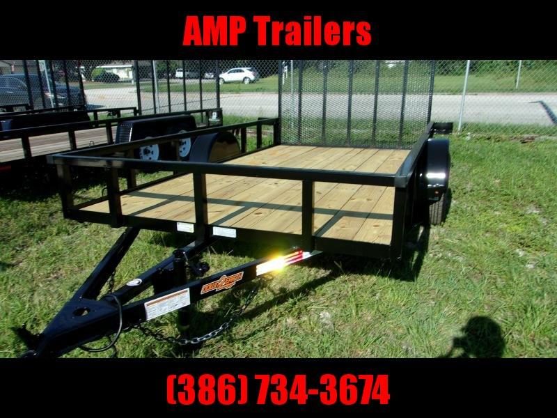 "2020 Down to Earth 76""x10' Single Axle Utility Trailer"