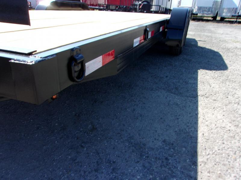 2020 AMP Trailers 82X18 CAR HAULER Car / Racing Trailer