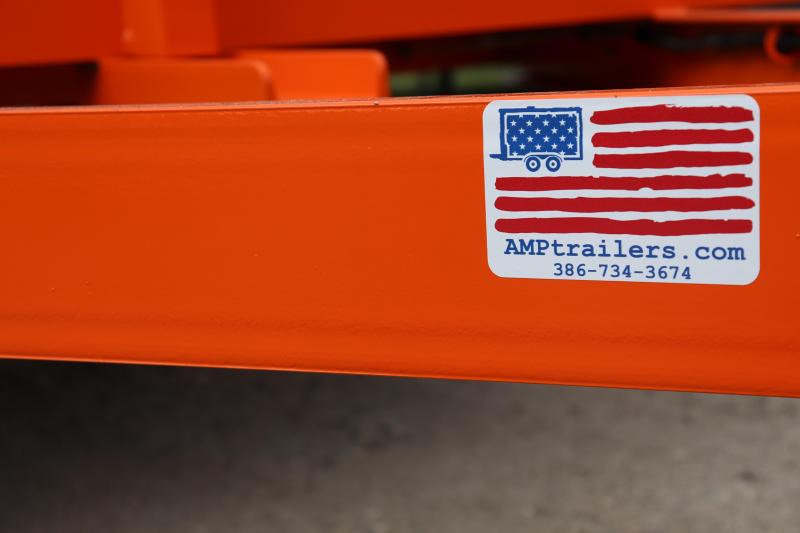 2020 AMP  76 X 12 Utility Trailer *SAFETY ORANGE