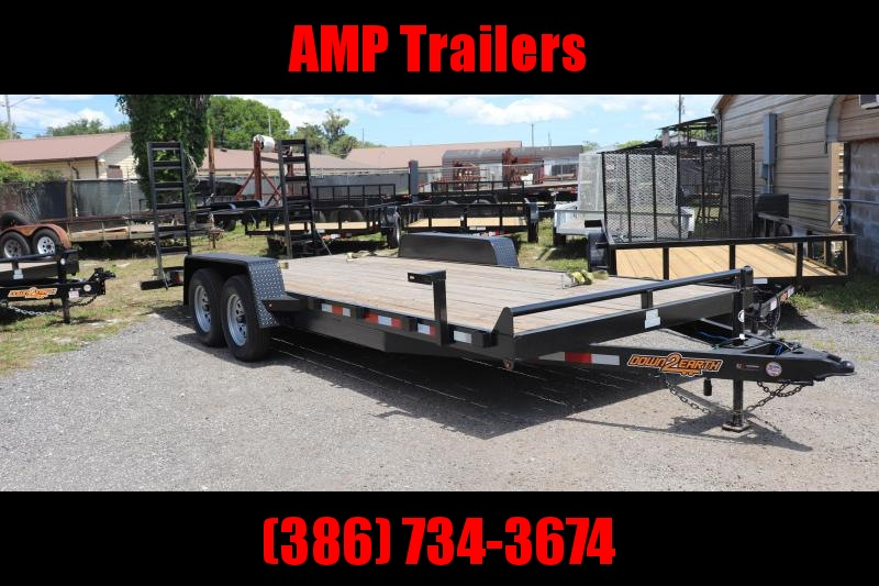 2020 Down 2 Earth Trailers 82x20 EQ (3.5k AXLES)