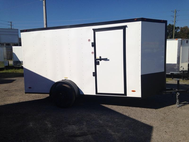 2019 6x12 COMMANDER SERIES Single Axle Cargo Trailer