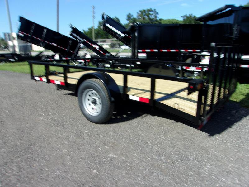 """2020 Down to Earth 76""""x12' Utility Trailer *DOVETIL"""
