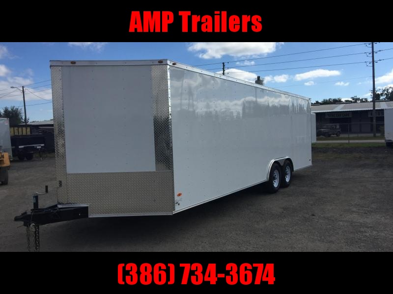 2019 Freedom Trailers 8.5'x24' COMMANDER SERIES CARGO TRAILER Enclosed Cargo Trailer