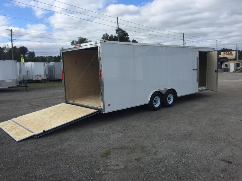 2020 Freedom Trailers 8.5'x24' COMMANDER SERIES CARGO TRAILER Enclosed Cargo Trailer