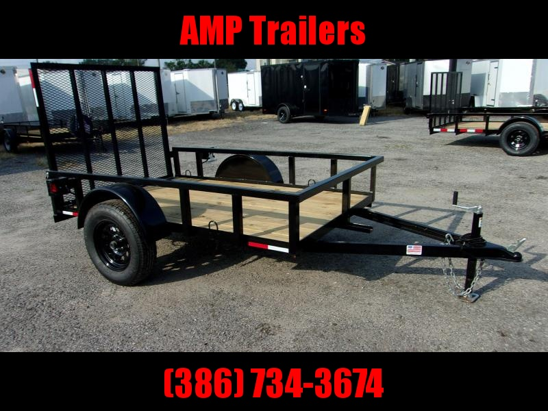 2020 AMP Trailers 5x8 Single Axle Utility Trailer