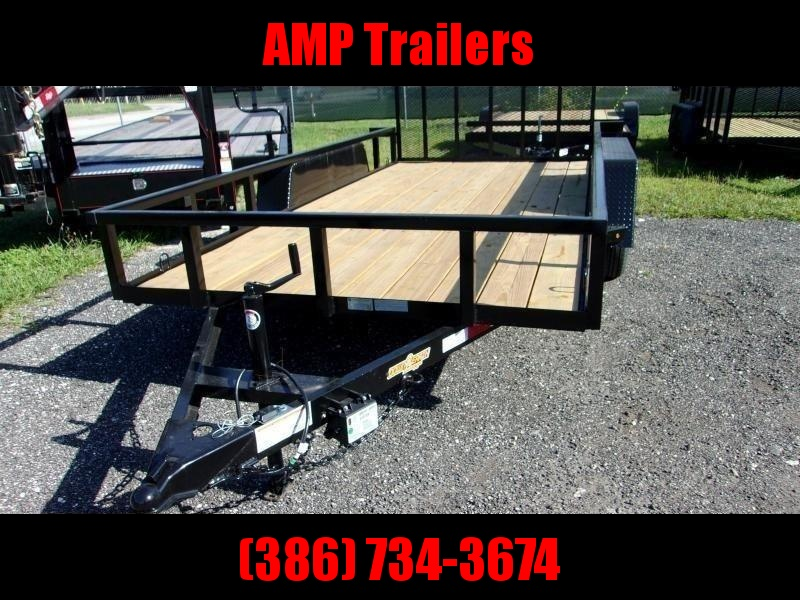 "2020 Down 2 Earth Trailers 82""x16' Utility Trailer *DOVE TAIL"