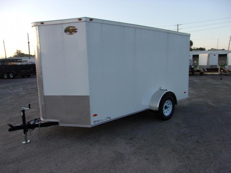2020  6x12 COMMANDER SERIES Single Axle CARGO TRAILER