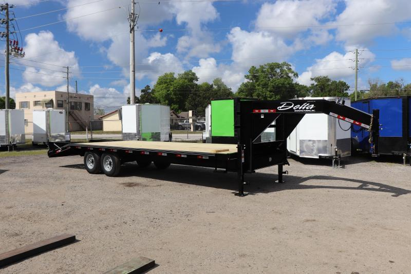 "2020 25'x102"" 7 ton Gooseneck Equipment Trailer"