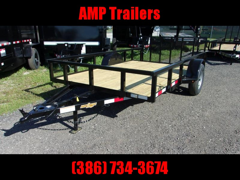 "2019 Down 2 Earth Trailers Down to Earth 76""x12' Utility Trailer"