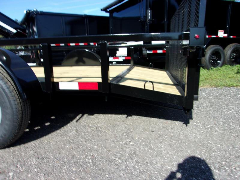 "2019 Down to Earth 76""x12' Utility Trailer *DOVETIL"