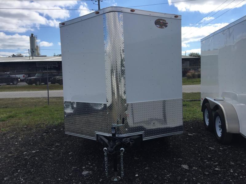 2020 7X16 Commander Series TANDEM AXLE Cargo Trailer