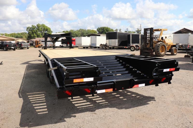 "2020 25'x102"" 7 ton Gooseneck Equipment Trailer"