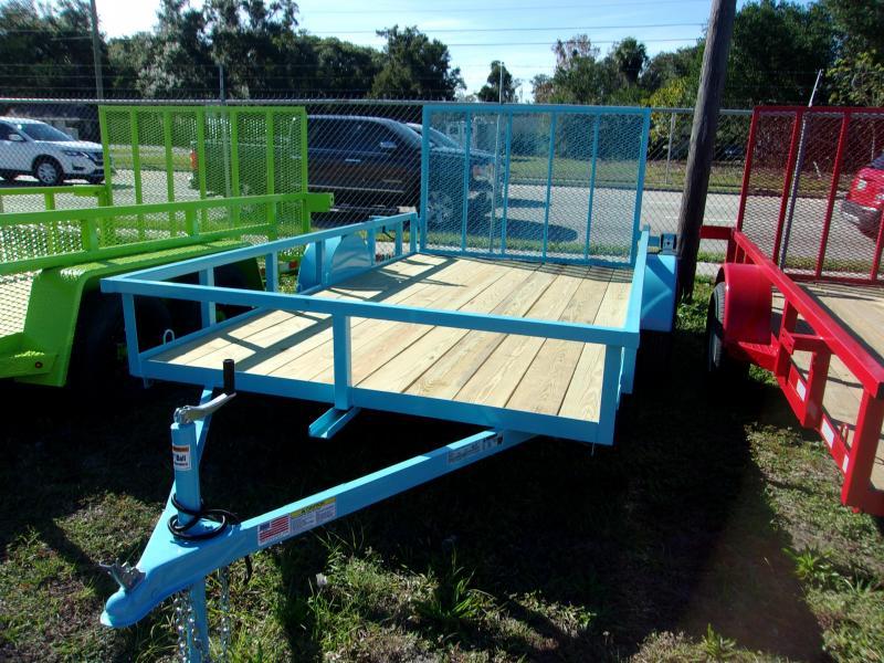 2020 AMP  76 X 12 Utility Trailer *BLUE*