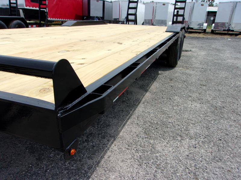 "2020 Down 2 Earth Trailers 24'x102"" DRIVE OVER Equipment Trailer"